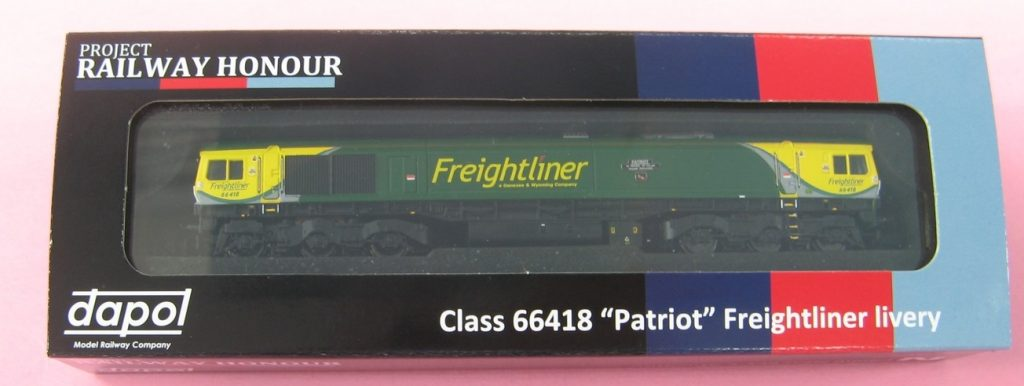 Project Railway Honour class 66 pre-production sample