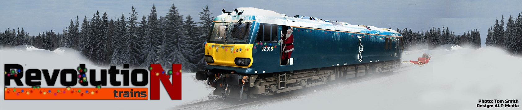 Merry Christmas from Revolution Trains