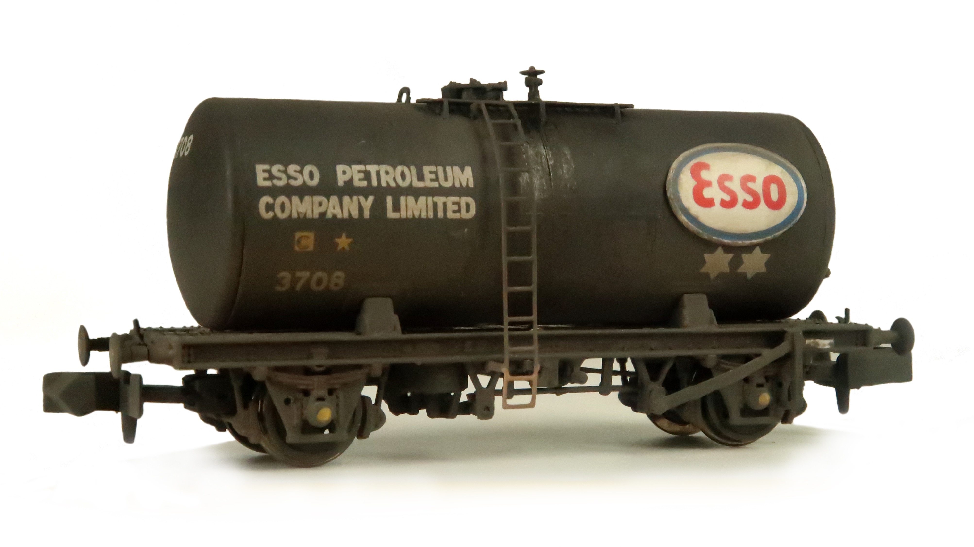 Vintage Airfix Esso Tank Wagon 00 Gauge Red Stripe Box Limited Edition