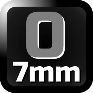 7mm/O gauge